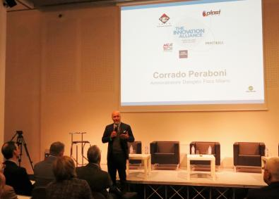 Corrado Peraboni, Fiera Milano Discusses the Innovation Alliance