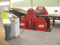 DAVI 4-roll with capacity of 3000 x 70 mm recently installed at Subsea 7's facility in Ghana.