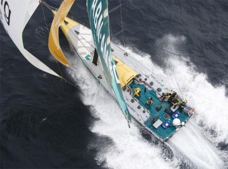 Cariboni's ultralight hydraulics for sailing and racing yachts are half the weight of conventional circuits.