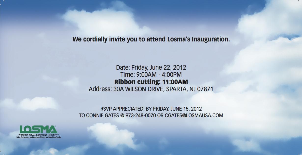 LOSMA Invite (1 of 2 Pages)