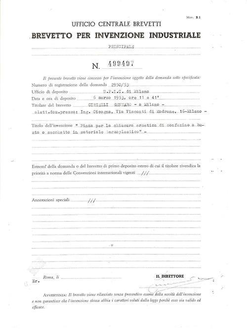 CIBRA's Patent