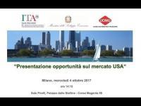 """Video """"Presentazione opportunità sul mercato USA"""""""