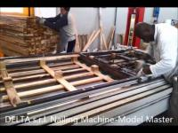 Video of the Nailing Machine model MASTER