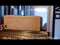 Video of the CrossCut Pack Cutting machine model TPA120